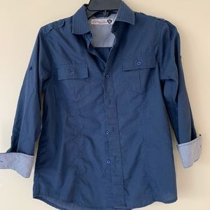 Sovereign Codes-Nordstrom-big boys casual shirt M